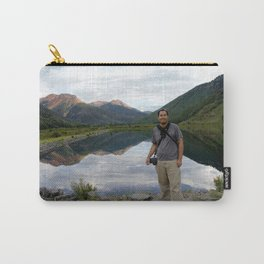 Photographer on Crystal Lake Carry-All Pouch