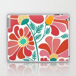 The Happiest Flowers III Laptop & iPad Skin
