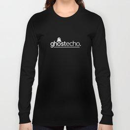 Ghost:Echo Grey Strap Logo Long Sleeve T-shirt