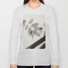 Forgotten Leaves on Plastic Roof Abstract Long Sleeve T-shirt