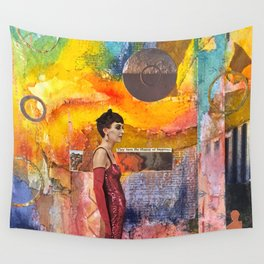 Living in Illusion Wall Tapestry