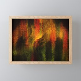 Concept abstract ; Love and sunshine Framed Mini Art Print