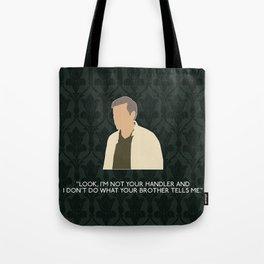 The Hounds of Baskerville - Greg Lestrade Tote Bag