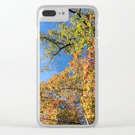 Changing Leaves at Biltmore Clear iPhone Case