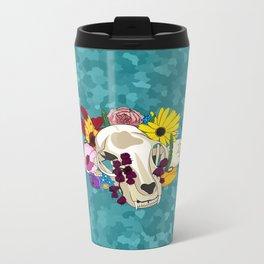 Feline Flourish Metal Travel Mug