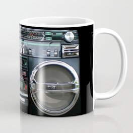 Retro 80's objects - Guetto Blaster Coffee Mug