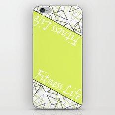 The fitness club . Sport . Lemon white creative sport pattern . iPhone & iPod Skin