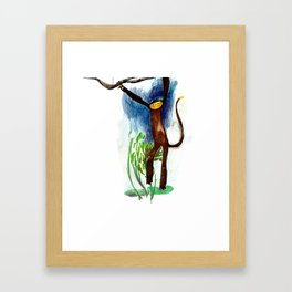 Cheeky Monkey Framed Art Print