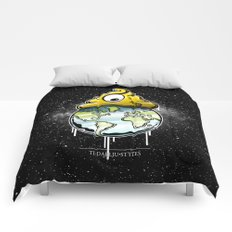 shit rules the world Comforters
