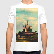 Once Upon a Time MEDIUM White Mens Fitted Tee
