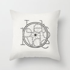 Let´s Ride Throw Pillow