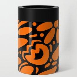 Beautiful Orange Otomi Can Cooler