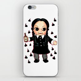 Wednesday Kewpie iPhone Skin
