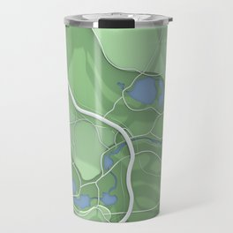 Brooklyn Prospect Park Map (Green) Travel Mug