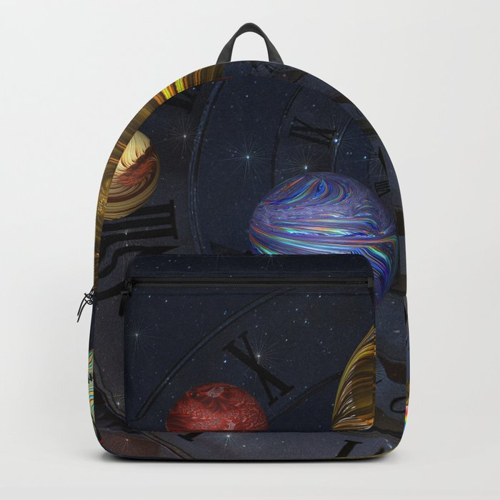 Planetary Time Spiral Backpack