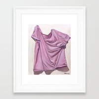 grunge Framed Art Prints featuring Grunge by Antoinette Lachney