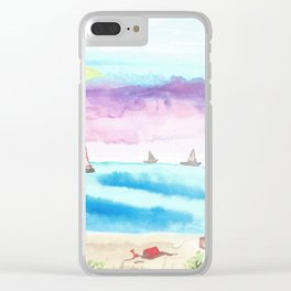 skyscapes 1 Clear iPhone Case