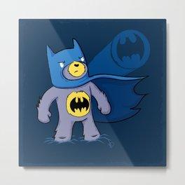 Batbear Metal Print