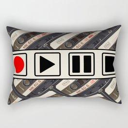 PLAY/PAUSE Rectangular Pillow