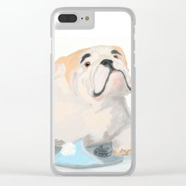 If dogs could speak Clear iPhone Case