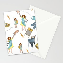 Vintage Laundry Day! Stationery Cards