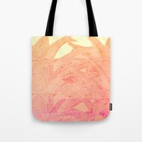 tequila Tote Bags featuring Tequila sunrise by Hipsterdirtbag