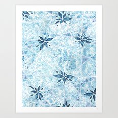 Frosted Window Art Print