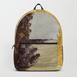 Golden secluded forest Backpack
