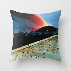 Quantum Leap Space Throw Pillow