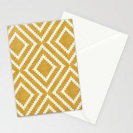 Loom in Gold Stationery Cards
