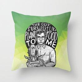 Little Shop of Horrors Throw Pillow