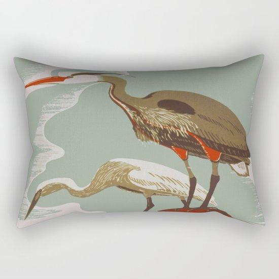 Visit the Zoo - African Birds Rectangular Pillow