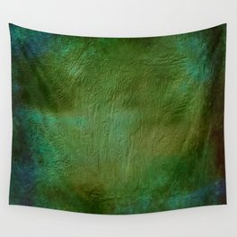 Shades of Deep Green Texture Wall Tapestry