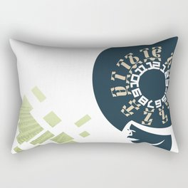GEEZ-GIRL Rectangular Pillow