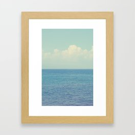 Vitamin Sea Ombre Framed Art Print