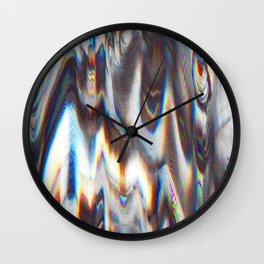 Glitch 2 Wall Clock