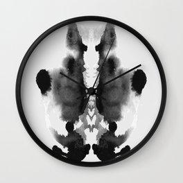 Form Ink Blot No. 26 Wall Clock