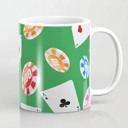 #casino #games #accessories #pattern 4 Coffee Mug
