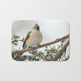I Am Titmouse. Hear Me Roar! Bath Mat