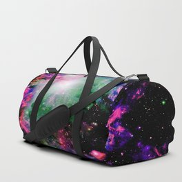 Orion Nebula Black Pyschedelic Duffle Bag