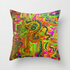 e x p o r t u s  Throw Pillow