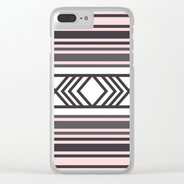 American Native Pattern No. 44 Clear iPhone Case