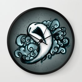 The little laughing ghost Wall Clock