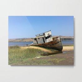 SHIPWRECK I Metal Print
