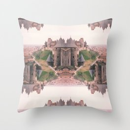 Chateau Photographic Pattern #2 Throw Pillow