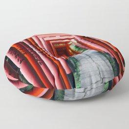 Torii Tunnel Floor Pillow
