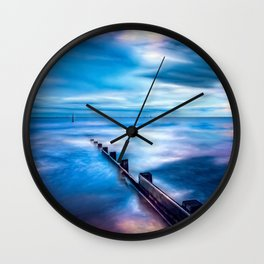 Seascape Sunset Art Wall Clock