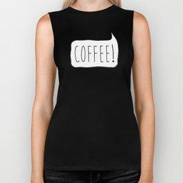 COFFEE! Biker Tank
