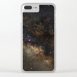 Milky Way Clear iPhone Case