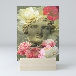 Venera and flowers Mini Art Print